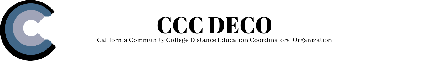 California Community College Distance Education Coordinators' Organization