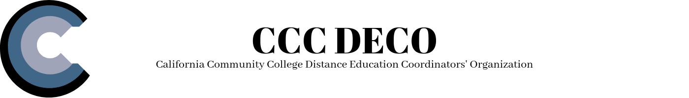 California Community College Distance Education Coordinators' Organization